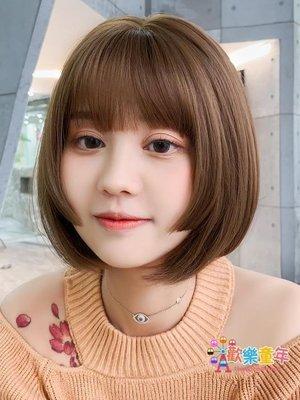 假髮女短髮bobo韓國波波頭圓臉網紅公...