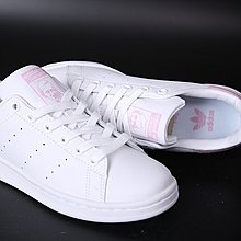 D-BOX  adidas stan smith 史密斯 滑板鞋 皮革 蛇紋櫻花粉 女款