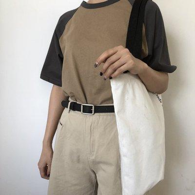 潮流百搭 單品 間約 圓形金屬PU皮帶女寬簡約百搭 chic腰帶針扣韓國復古裝飾牛仔褲帶學生