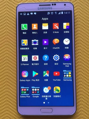Samsung Galaxy Note 3 N9005 16GB 粉色 完全沒掉漆 4G