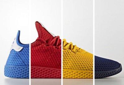 【路克球鞋小天地】愛迪達  Adidas Tennis Hu 菲董 編織鞋 休閒鞋 GD 陳冠希 紅/黃/藍/寶藍