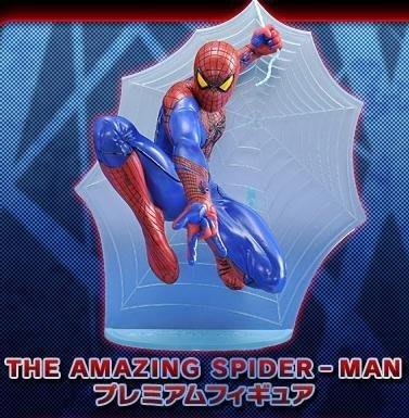《潮流本舖》日版 SEGA 景品 蜘蛛人 驚奇再起 雕像 全一種