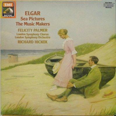§小宋唱片§ 英版EMI/艾爾加:海景、音樂創作者/Felicity Palmer/Richard Hickox/DMM