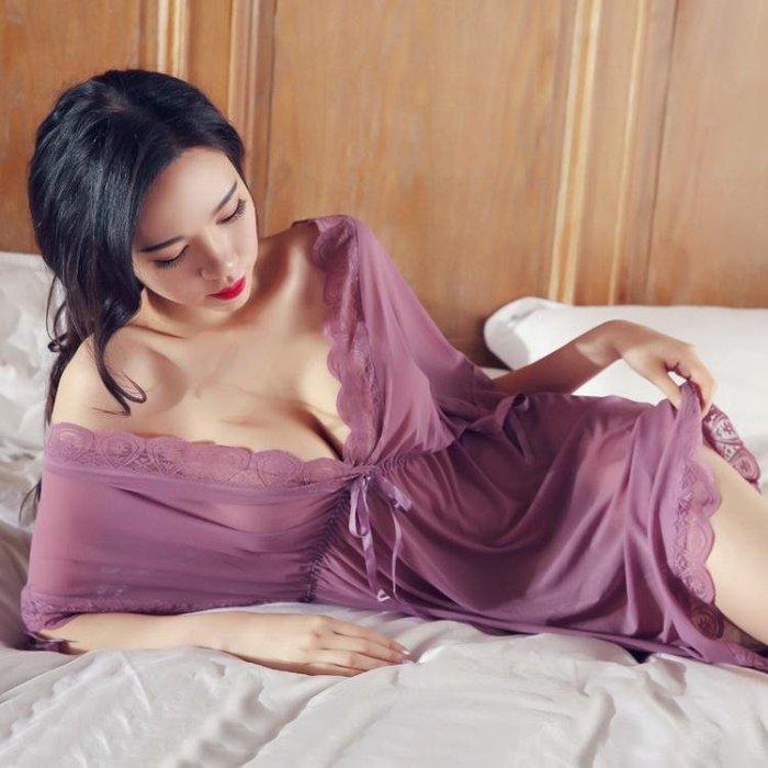 大碼胖妹妹大碼情趣內衣200斤睡衣女夏性感火辣短激情套裝騷 情調衣人 qf13313