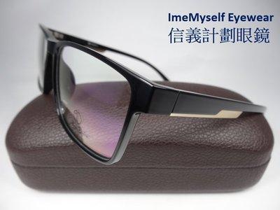 【信義計劃眼鏡】Alain Delon AD4029 亞蘭德倫 TR90 膠框 方框 超輕 超寬 15公分 亞洲版高鼻墊