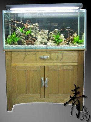 。。。青島水族。。。店長嚴選------(開放缸)普通玻璃/白膠==3.2尺