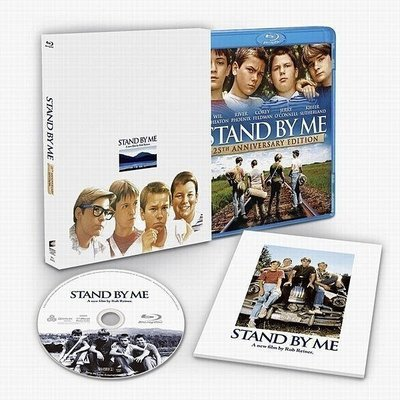 【BD藍光】站在我這邊 25週年版:初回生產限定收藏版Stand By Me(中文字幕,DTS-HD)