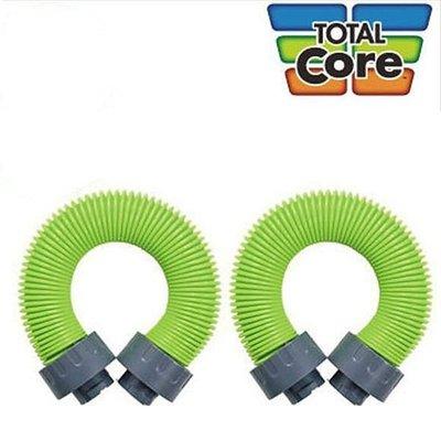 [洛克馬企業出品] TOTAL CORE 活力健身機  專用伸縮管 綠色彈簧管 強效拉力繩 2條 免運費