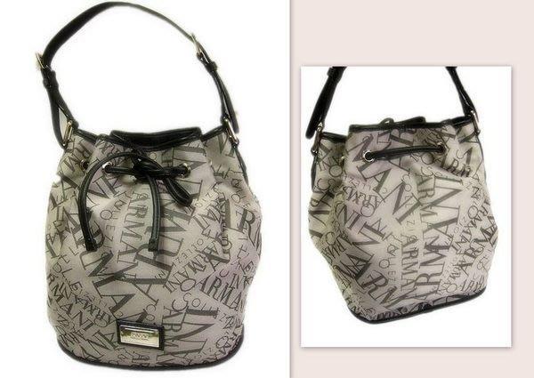 *Beauty*ARMANI帆布水桶包 原價12800元