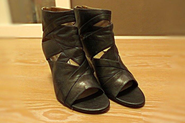*Beauty*Belle 黑色高跟踝靴 7號 PH