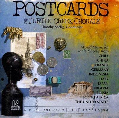 合友唱片 龜溪合唱團 明信片 POSTCARDS / The Turtle Creek Chorale CD