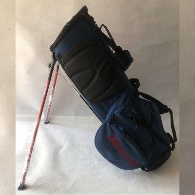 正品日本高爾夫支架包BRIEFING系列男女球包防水輕量藍白黑高爾夫球包