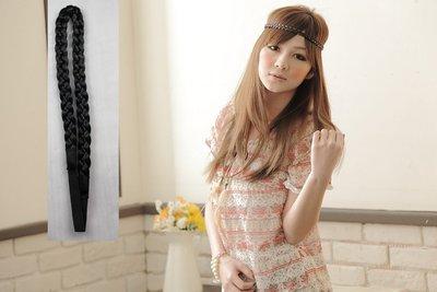 【促銷】紗婷‧Satine【髮辮】波希米亞風頭髮飾品造型。彈性髮帶式髮辮