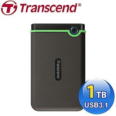 創見 StoreJet 25M3 2.5吋 usb 3.0 1TB 行動硬碟(TS1TSJ25M3) 新竹市
