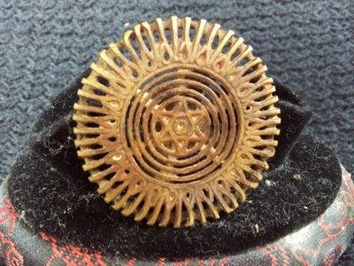 【準提坊】老銅壇城法印,直徑38.5*h35.5mm
