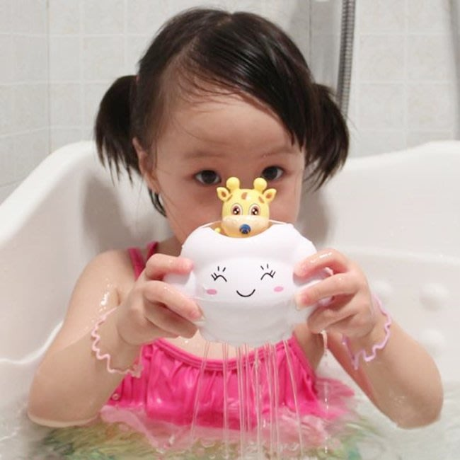 雨雲 洗澡玩具 洗澡雲 雲雨 早教科學玩具 洗澡戲水 游泳玩具 浴室雲雨 同款Plui 【塔克玩具】