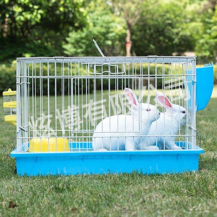 鳥籠 籠子 兔籠大號兔籠子荷蘭豬豚鼠籠小型寵物籠家用大號金屬別墅寵物窩