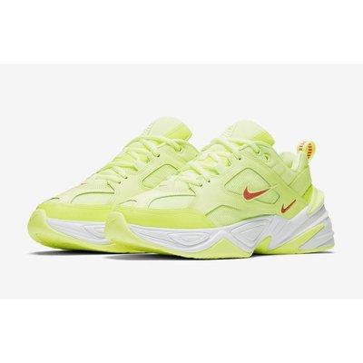 【老鞋頭】 Nike M2K Tekno Barely Volt 螢光 慢跑 氣墊 女 老爹 CJ5842-700