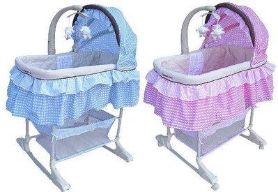Mother's Love 嬰兒護理震動搖床豪華音樂搖籃床 嬰兒床 嬰兒多功能搖床