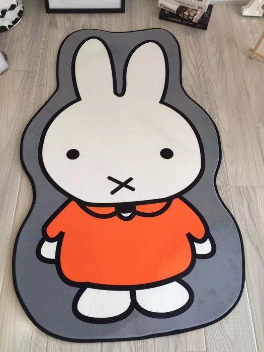 ☆║♥愷心小舖♥║☆ 韓國 可機洗 超柔水晶绒地墊地毯 仙人掌 小黃鴨 麵包超人 米菲兔 懶懶熊 小叮噹