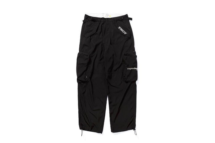 OVERLORD X PRETTYNICE PNOV Cargo Pants-Black 運動 口袋 風褲