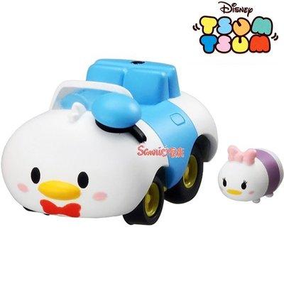 《東京家族》迪士尼 TSUM TSUM 黛西疊唐老鴨 迴力車 小汽車玩具