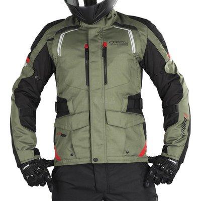 瀧澤部品 義大利Alpinestars A星 ANDES V2 DryStar Jacket 黑軍綠 防水防摔衣 保暖