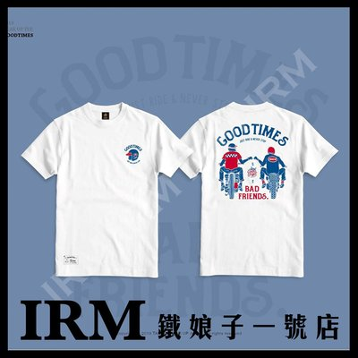 【鐵娘子一號店】台灣 Taiwan 2019 GEAR UP TEE 美國純棉T Good Times 經典白