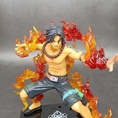 (星河)海賊王手辦艾斯炎帝火焰火拳動漫周邊收藏模型擺件生日送禮物