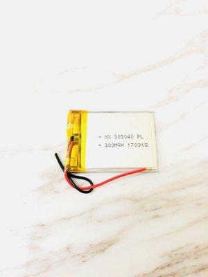 [303040] 3.7V 鋰聚合物電池
