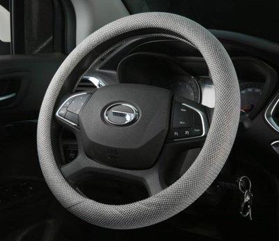 方向盤套-通用型汽車把套超手感透氣防滑吸汗亞麻布藝春夏四季方向盤套