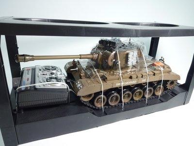 大千遙控模型  1:20 SNOW LEOPARD遙控坦克-聲光戰車/可發射BB彈/砲管有後座力 (4)