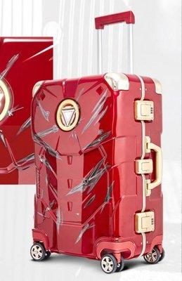 (全新正版) Marvel Ironman Iron Man 發光戰損版旅行喼 Luggage (20吋, 2.0升級版)- 2019 男友最愛聖誕禮物