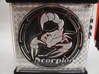 震撼立~ 毒蠍  Corpion 10吋主動式超低音喇叭特價!