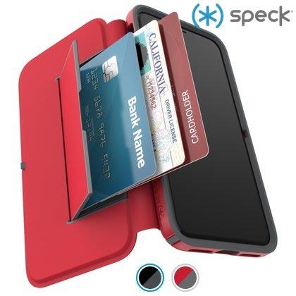 Speck iPhone Xs/X 5.8吋 針織紋側翻3米防摔皮套 Presidio Folio 保護套 喵之隅