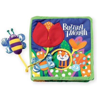 預購 美國 Manhattan Toy 啟蒙認知軟布書 蜜蜂嗡嗡(Buzzing Through)