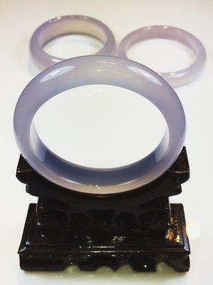 ((上品堂))頂級天然紫玉髓手鐲.手圍18.5,只給第一標.可加強判斷力