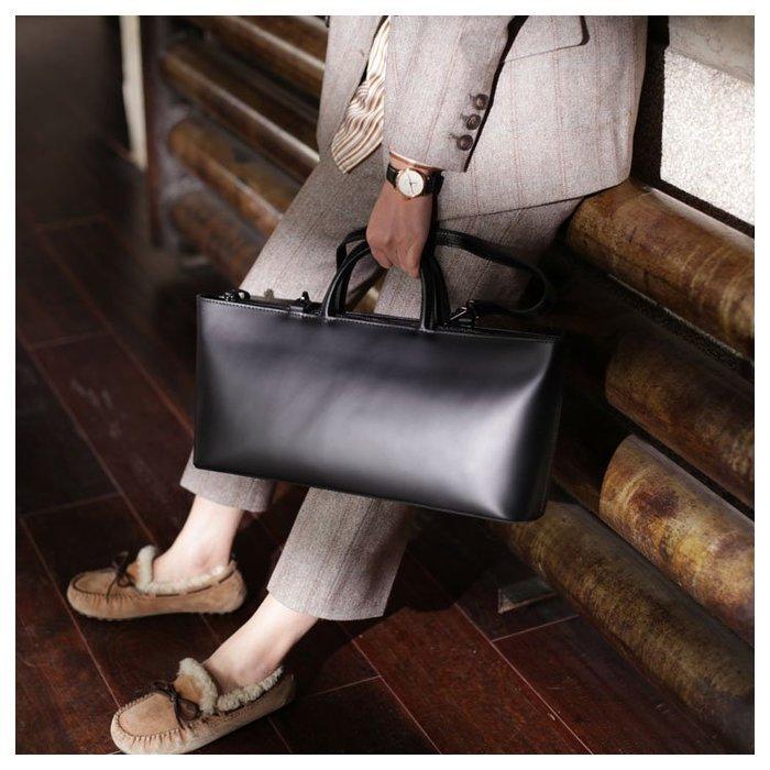 NYCT 韓國熱賣限定原創 高品質 歐美韓星百搭時尚必備款原創設計師黑色牛皮手提包高級感洋氣小眾品牌女包復古真皮斜挎包