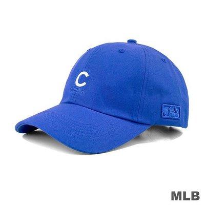 騎士風~ MLB 紐約 小熊隊 可調式 棒球帽 老帽 藍 CUBS