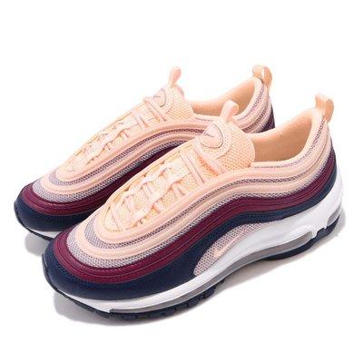 【AYW】NIKE AIR MAX 97 PLUM CHALK 粉紫 反光 大氣墊 休閒鞋 運動鞋 慢跑鞋 24.5cm