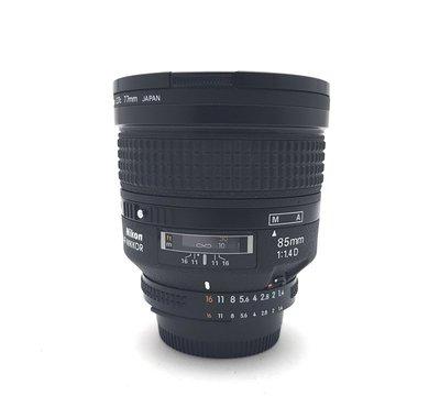 @佳鑫相機@(中古託售品)Nikon AF 85mm F1.4 D IF 大光圈定焦人像鏡頭