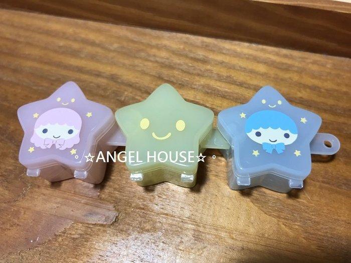 。☆ANGEL HOUSE☆。日本進口**kiki lala 雙子星**三色星星小盒400