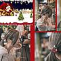 [現貨]可愛聖誕款髮飾_耶誕紅綠雙珠髮圈手鍊手環_聖誕老公公