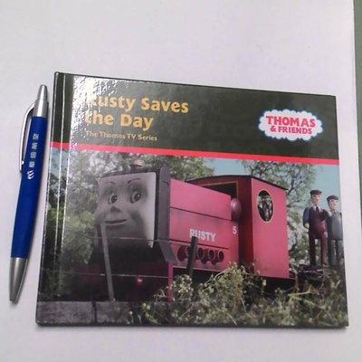 英文童書 Thomas 湯瑪士小火車 Rusty Saves the Day 羅斯提 繪本 有趣生動