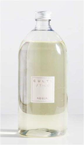 【正版.公司貨】CULTI Milano [二瓶免運] 1000ml 補充包 ACQUA 義大利國寶 CULTI香氛擴香