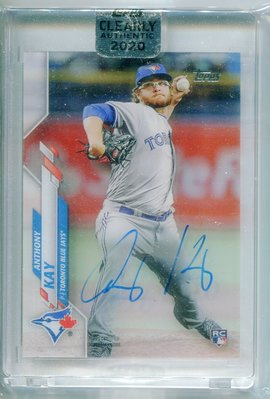 2020 Topps Clearly Anthony Kay RC AUTO 超美 簽名 特卡