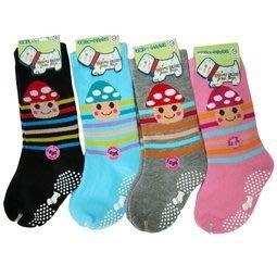 8106 止滑童襪-香菇頭 童襪 3雙100元