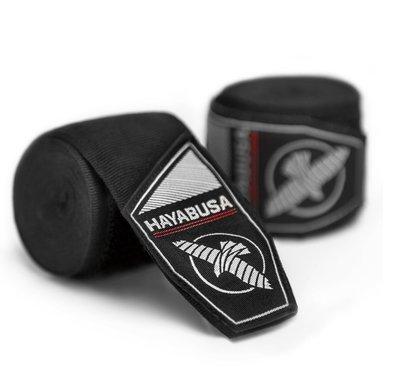 [古川小夫]HAYABUSA HAND WRAPS專業拳擊手綁帶~UFC冠軍GSP代言品牌~手綁帶~4.5米黑 彈性