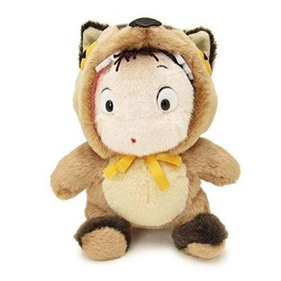 JP購✿7081800043 小米變裝貓公車絨毛娃M 宮崎駿 龍貓 TOTORO 娃娃 小梅 變裝 龍貓公車 收藏 玩偶