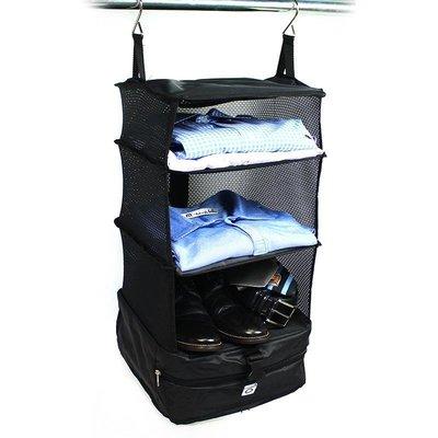 【全新】Stow-N-Go行動衣櫥收納架 - S - 黑
